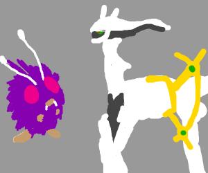 venonat and arceus