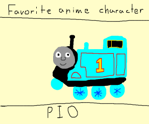 fav anime charter P.I.O(pass it on)