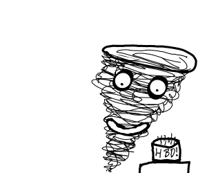 Tornado's birthday