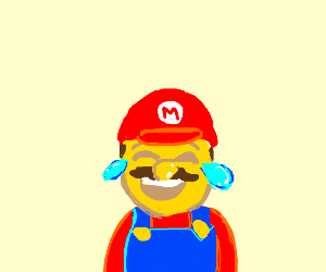 Laughing Crying Mario