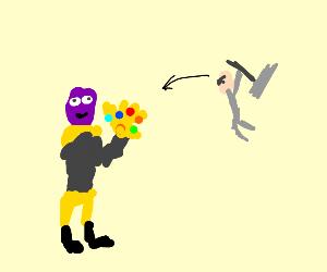Thanos vs thor