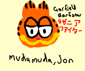 garfeilf is now a jojo reference