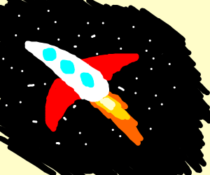Unrealistic Rocket