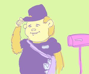 M'lady monkey mailman
