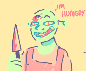 Shrek takes hangry to a murdery level.