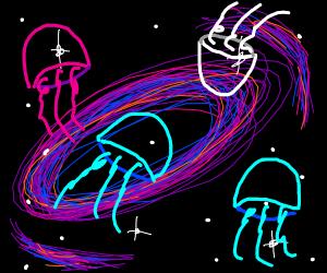 Galaxy of Jellyfish