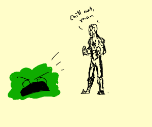 spiderman enrages bush