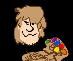 Shaggy acquires the Infinity Gauntlet