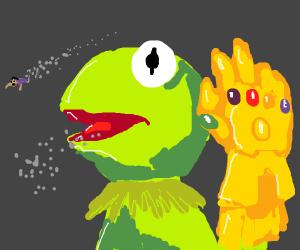 Kermit Thanos Drawception