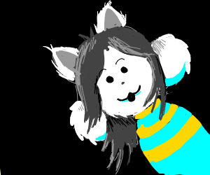Temmie from Undertale