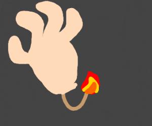 A hand grenade