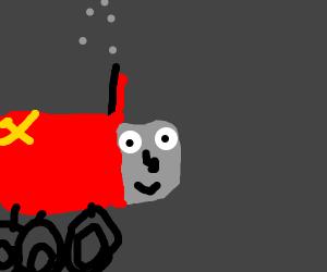 Thomas the Communist Tank Engine