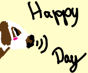 happy bark-day!