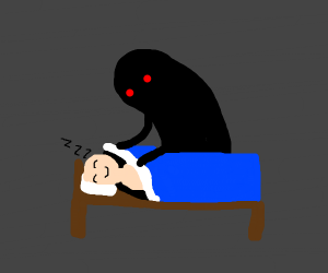 shadow taking care of you on your sleep :)