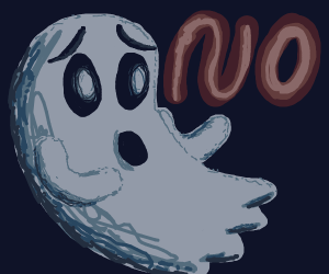 Ghost pleading for no