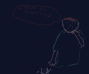 I BROKE MY MOM'S CUP(he killed me?)