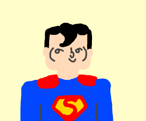 Superman likes what he sees