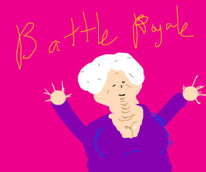 Killer Fortnite Grandma