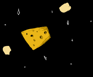 Cheese in Space