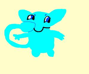 blue shiny mew