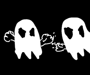ghost fights ghost