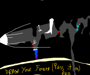 Draw your fears; P.I.O (Pass it on)