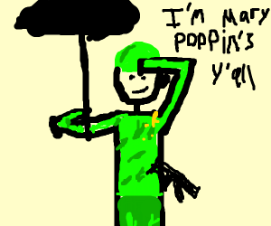 Military Mairy Poppins