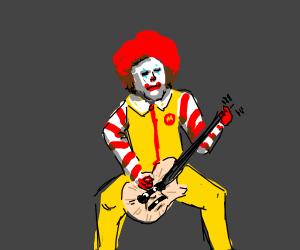 mcdonald's guitar