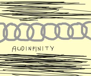 audi symbol but its infinite