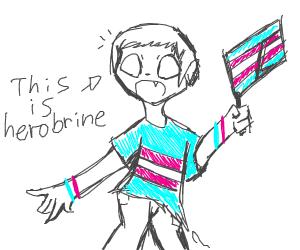 trans icon herobrine