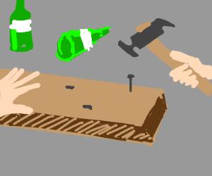 Drunk builder