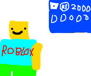 roblox player is rich with roblox money