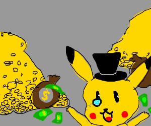 Rich pikachu