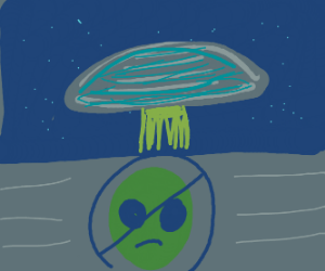 No Alien Zone Invaded