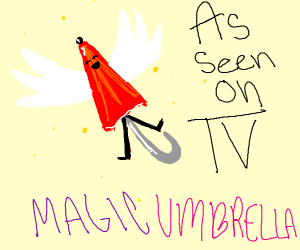 As seen on TV The Magic Umbrella