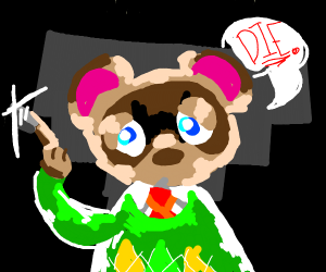 Animal Crossing villager wants you to die