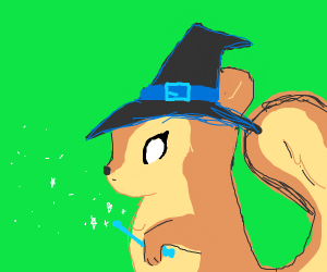 Wizard Squirell