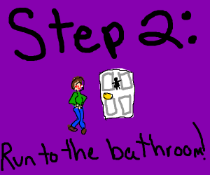 Step 1: pee your pants at a party
