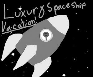 Luxury Spaceship Vacation