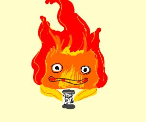 Anime fire loves pepper