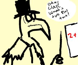 Plague Doctor teaching