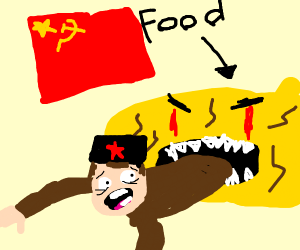 In soviet russia your favorite food eats you
