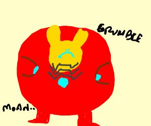 Iron Man got fat :(