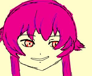 pinkish anime girl