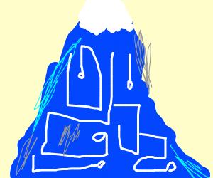 Futuristic Mountain
