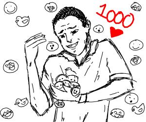 Thanks for 1000 emotes!