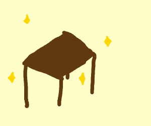a freaking rare table sat hey shisdgmj
