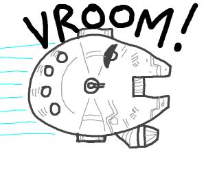 Millennium Falcon VROOOM