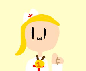 1# blonde nurse