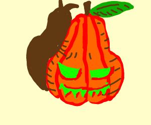 pear-pumpkin mashup